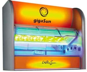GigaSun True innovation in performance and luxury tanning in a true High-Pressure sunbed